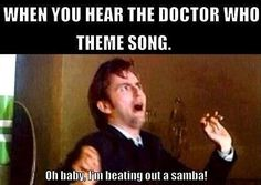 ******* Email me (see bio for details of how to get a shoutout to up to fandom account…or Eccleston? ******* Email me (see bio for details of how to get a shoutout to up to fandom account… Doctor Who Funny, Doctor Humor, Doctor Who Quotes, Geronimo, David Tennant Doctor Who, 10th Doctor, Celebration Quotes, Dr Who, Theme Song