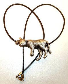 Lazy Cat Necklace JJ Jonette on sale at dollherup on Etsy, $12.00 #cats #Jewelry