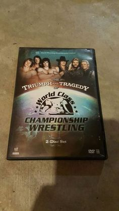 World class championship wrestling 2 disc set