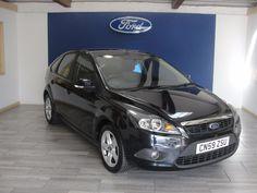 NOW SOLD - Ford Focus 1.6 Zetec 5dr Hatchback Petrol Black