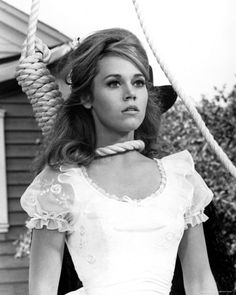 """When u can't remember why you're hurt, that's when u're healed"" Jane Fonda in the title role of Cat Ballou."