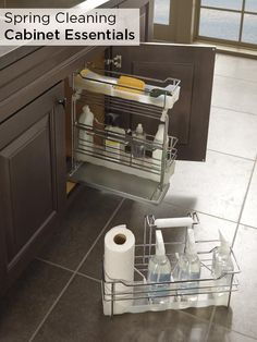 Make spring cleaning just a bit easier with Decora's Cleaning Caddy Deluxe! This innovative system ensures that your entire arsenal of cleaning supplies stays organized and are ready to grab and go to any room in the house!