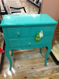 Seen in Homegoods store Home Goods Store, Accent Decor, Favorite Color, Nightstand, Color Tones, Table, Bedroom Ideas, Furniture, Vintage