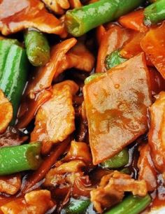 Chicken with Asparagus and Almonds.A healthy meal and delicious meal. Leave out the butter and stick with the olive oil for a healthier option.