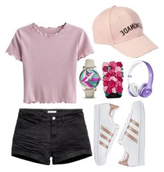 """""""Untitled #179"""" by its-the-iz on Polyvore featuring FOSSIL, Amici Accessories, adidas Originals and Kate Spade"""