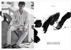 Xavier Serrano by Daniel Riera for the Avellaneda Spring Summer 2016 Campaign