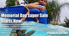 It's Time To Have Some Fun In The Sun - At PoolAndSpa.com, our Memorial Day Sale Starts Now!  http://www.poolandspa.com/email-archive/EMN-05-17-17.htm