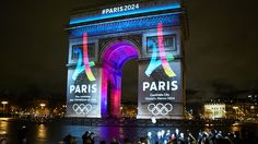Paris 2024 Olympic and Paralympic Games bid logo designed by Dragon Rouge.