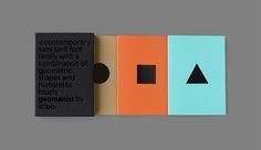 geomanist booklet on Behance
