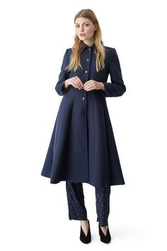 25 Stylish Winter Coats That Are Actually Warm #refinery29  http://www.refinery29.com/warm-dressy-coats#slide-12  Ganni Lawrence Coat, $424, available at Ganni. ...