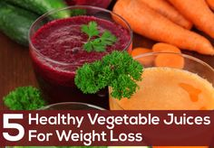 Juicing fresh vegetables is an excellent way to put off the excess calories. Check yourself what vegetable juice for weight loss works wonders for you.