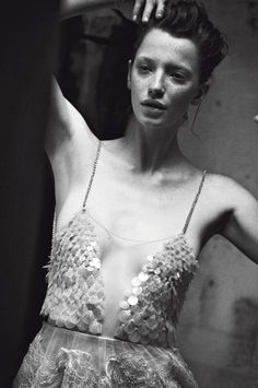 Milagros Schmoll in Vogue Italia, September 2013 by Peter Lindbergh #currentinspiration