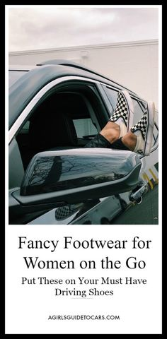 Driving shoes are a thing  your feet need good contact with your car s  pedals. 3e2e63d501a1