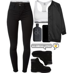 A fashion look from November 2014 featuring bomber jacket, black leggings and Calvin Klein Underwear. Browse and shop related looks.