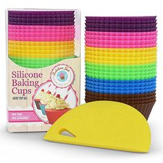 Love these! http://www.amazon.com/Reusable-Silicone-Includes-Baketown-Girls/dp/B00SIMNS06