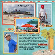 Castaway Cay - Page 9 - MouseScrappers.com