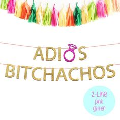 Adios Bitchachos Bachelorette Party Banner, Final Fiesta Banner, Final Fiesta Theme, Cabo Bachelorette, Mexico Bachelorette Theme Fiesta – Famous Last Words Bachelorette Party Banners, Bachelorette Party Planning, Bachlorette Party, Bachelorette Party Decorations, Bachelorette Weekend, Fiesta Theme Party, Hens Party Themes, Instagram Worthy, Mexico Party