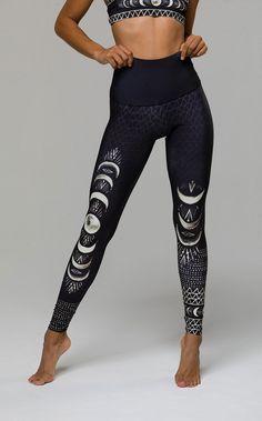 #PintoWinOnzie Yoga Pants | High Rise Graphic Legging - Las Lunas