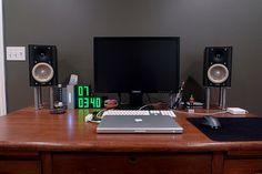 IKEA desktop speaker stands   DIY   Pinterest   Speaker Stands ...