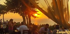 Ηλιοβασίλεμα από τη Δύση Celestial, Sunset, Outdoor, Outdoors, Sunsets, Outdoor Games