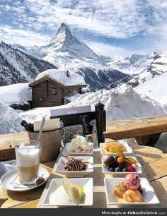 travel aesthetic Breakfast in Zermatt, Switzerland Zermatt, The Places Youll Go, Places To Go, Voyage Europe, Travel Aesthetic, Winter Activities, Future Travel, Travel Goals, Adventure Is Out There