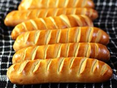 Vienna Bread / Pain Viennois / Buns / Austrian Bread / baguettes / Sandwich Rolls / Best bread recipe / Artisan Bread / No fail bread / French bread Recipes / Homemade bread/ Bread recipes/ Easy bread / Sourdough Bread Best Bread Recipe, Easy Bread Recipes, Cooking Recipes, Vegetarian Recipes, Bun Recipe, Chicken Recipes, Healthy Recipes, Bread Bun, Bread Rolls
