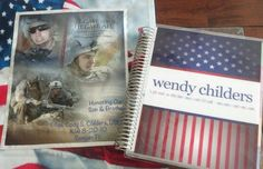 """Thank you for a beautiful life planner that I just got. I run a non-profit in honor of my Marine son, LCpl Cody Childers, wecaremarines.com who was KIA in Afghanistan in 2010. This will be fabulous to keep me organized for all our fundraisers and meetings we have. LOVE the design and appropriate to honor my Hero."""