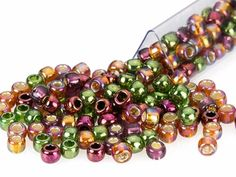 50p Czech Jonquil Matte Round Fire Polished Faceted Loose Craft Glass Beads 6mm