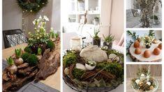 Tento rok nechajte obrus v skrini: 20+ krásnych jarných dekorácií na váš stôl. Už žiadne umelé dekorácie! Driftwood Planters, Succulents In Containers, Table Decorations, Plants, Furniture, Home Decor, Cupcake, Jar, Cup Cakes