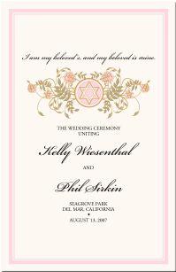 Wedding Programs-Wedding Program Wording-Program Samples-Program Examples-Wedding Program Templates