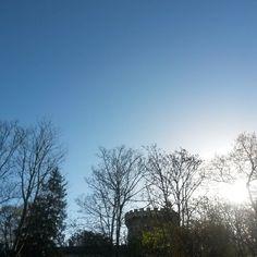 Love from #Niort #cielfie #lcdj #lecieldujour #nofilter #instasky #instablue #blue #bleu #sky #ciel #skyporn