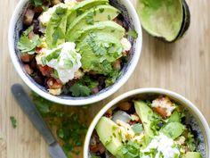 Burrito de Quinoa al plato | En mi cocina hoy