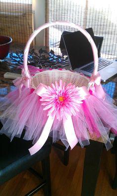 Tutu Easter basket inspiration!