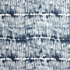 Swirled Stripe Washed Navy | Rebecca Atwood | Fabric by the Yard