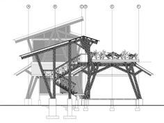 Bamboo House Construction Plans Blue Print Stunning modern bamboo house and construction Home design Bamboo Construction, House Construction Plan, Bamboo House Design, Timber Architecture, Organic Architecture, Bamboo Structure, House Plans, New Homes, Costa Rica
