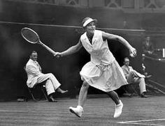 """Charlie Chaplin, when asked to describe the most beautiful sight he had ever seen replied, """"the movement of Helen Wills playing tennis."""""""