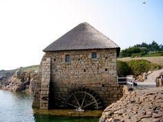 Le moulin à marée du Birlot sur l'île de Bréhat, en France