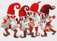 Какая снежность за окном! Художник - иллюстратор Minna L. Immonen. Обсуждение на LiveInternet - Российский Сервис Онлайн-Дневников