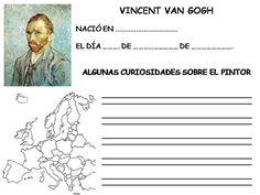 Picassa: proyecto Van Gogh. fichas