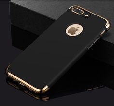 Plastic Hard Back Cover Case Coque for iPhone 7 Plus 7Plus i Phone Matte Luxury Brand Full Body Hybrid Protective Capinha