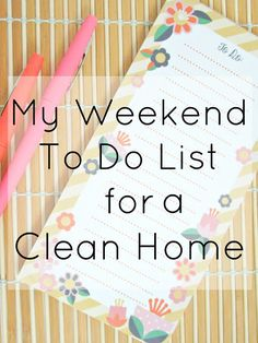 8 Things I do on the weekend to clean my apartment for the week ahead