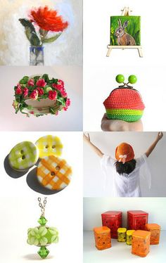 Vitaminic Spring by Ale on Etsy--Pinned with TreasuryPin.com