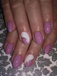 Nail art Christmas - the festive spirit on the nails. Over 70 creative ideas and tutorials - My Nails Pink Nail Art, Purple Nails, Nail Designs Spring, Nail Art Designs, Cute Nails, Pretty Nails, Hair And Nails, My Nails, Summer Nails 2018