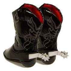 Heelarious Western Footwear for Newborns #babies trendhunter.com