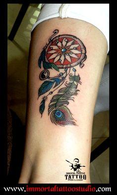 dreamcatcher!!  #artoflife #inkoftoday #tattoolife #artaddict #artoftoday #tattoo ed #supportart #tattoos #tattooartist #tattoo #tattooist #tattootime #ink #tattooflash #inktattoo #tattoolove #tattoodesign #tattooing #tattooart #tattooink #Ink #inked #Unique #dreamcatcher #peacock  #Art #Indore at Immortal Creative Tattoo Studio #Indore #Dina-Karanur views, Comments and shares would be Appreciated!!