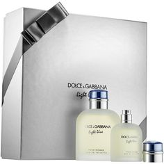 c799f5016aa8c DOLCE GABBANA Light Blue Pour Homme Gift Set (165 BAM) ❤ liked on Polyvore  featuring men s fashion, men s grooming and men s gift sets   kits