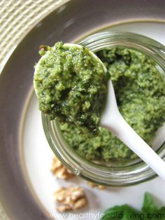 Basil Walnut Pesto | recipes | Pinterest | Pesto, Basil Walnut Pesto ...