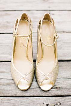 Ivanka Trump Gold Heels   Wedding Shoes