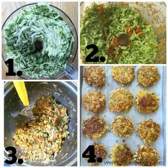 Crispy, easy veggie cakes made with grated vegetables - carrots, zucchini, broccoli and corn. Great for lunches, side dish or your small picky eaters. Tasty Vegetarian Recipes, Going Vegetarian, Healthy Recipes, Vegetarian Burgers, Vegetarian Casserole, Veggie Side Dishes, Vegetable Dishes, Vegetable Recipes, Veggie Cakes