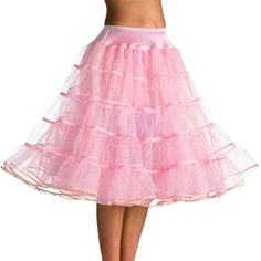 Buy Vintage Tea Length Tutu Petticoat Crinoline Slip - Pink - and Find More From Our Large Selection of Women's Lingerie With Big Discount. Pink Lingerie, Women Lingerie, Short Petticoat, Maid Cosplay, Tutu, Petticoats, Womens Fashion Online, Tea Length, Ballet Skirt